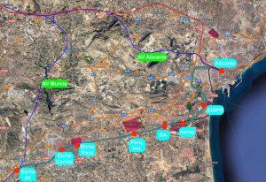Mejora ferrocarril Alicante Elche