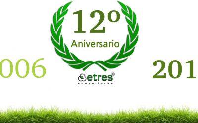 ETRES Consultores, 12 años contribuyendo a la mejora del Medio Ambiente