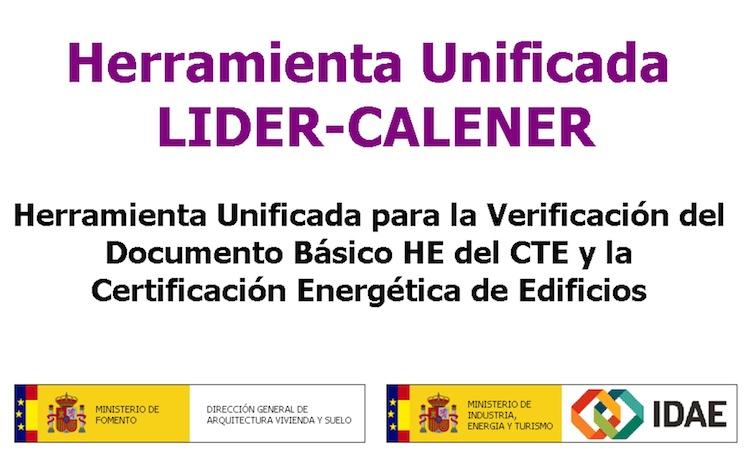 Herramienta Unificada LIDER CALENER