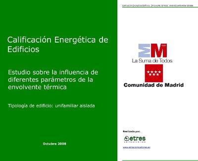 portada estudio certificacion energetica comunidad de madrid